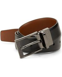 Perry Ellis - Leather Belt - Lyst