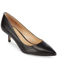 Ivanka Trump - Athyna Leather Closed Toe Court Shoes - Lyst