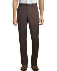 Perry Ellis Portfolio - Classic Pleated Trousers - Lyst