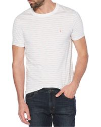 Original Penguin - Space Dye Striped Cotton Tee - Lyst