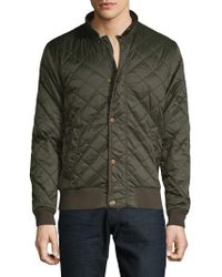 Barbour - Edderton Quilted Bomber Jacket - Lyst