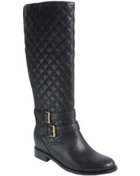 Kate Spade - Sutton Quilted Leather Boots - Lyst