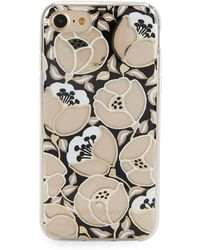Kate Spade - Floral Iphone 7/8 Case - Lyst