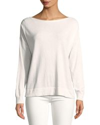 French Connection - Silk-blend Knit Pullover - Lyst
