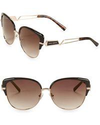 Vince Camuto - 63mm Cat Eye Sunglasses - Lyst