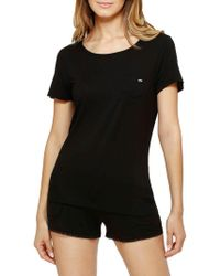 Kensie - Keeper Sleep Tee - Lyst