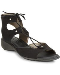The Flexx - Band On The Run Leather Sandals - Lyst