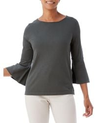 Olsen - Bell-sleeve Sweater - Lyst