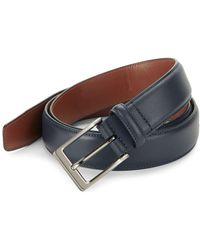 Perry Ellis - Classic Leather Belt - Lyst