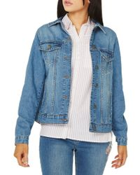 Dorothy Perkins - Midwash Denim Jacket - Lyst