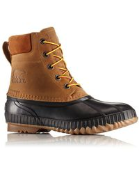 Sorel - Cheyanne Ii Leather Lace-up Boots - Lyst