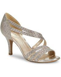 Bandolino - Meggie Studded Open-toe Court Shoes - Lyst