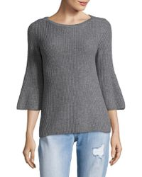Lord & Taylor - Petite Bell Sleeve Sweater - Lyst