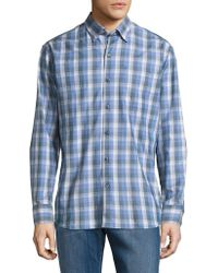 Tommy Bahama - Stretch Plaid Casual Button-down Shirt - Lyst