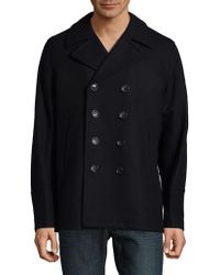 Michael Kors - Classic Double-breasted Peacoat - Lyst