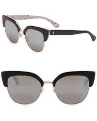 Kate Spade - 53mm Karri Cat Eye Sunglasses - Lyst