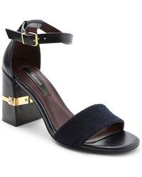 Kensie - Saleema Block Heel Sandals - Lyst
