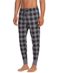 Ralph Lauren - Plaid Cotton Jersey Joggers - Lyst