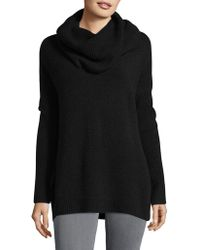 French Connection - Textured Cowlneck Sweater - Lyst