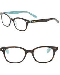 Kate Spade - Rebec Tortoise-print Eyeglasses - Lyst