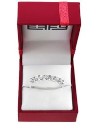 Effy - Pave Classica Diamonds And 14k White Gold Ring - Lyst