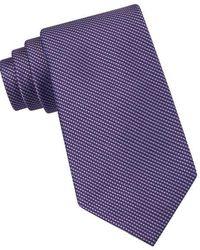 CALVIN KLEIN 205W39NYC - Classic Fit Silk Birdseye Tie - Lyst