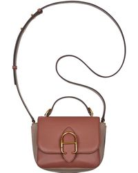 Anne Klein - Micro Cecile Leather Messenger Bag - Lyst