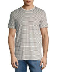 Strellson - Striped Short Sleeve Top - Lyst
