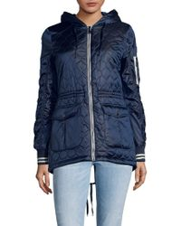 BCBGeneration - Quilted Soft Shell Jacket - Lyst