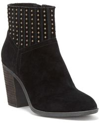 Lucky Brand - Salome Suede Booties - Lyst
