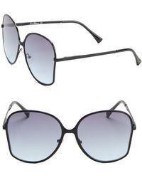 Sam Edelman - 62mm Square Sunglasses - Lyst