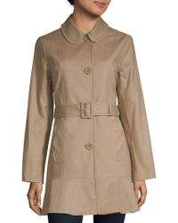 Kate Spade - Belted Trench Coat - Lyst