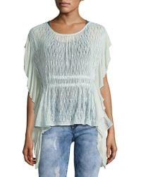 Free People - June Knit Top - Lyst
