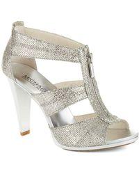 MICHAEL Michael Kors - Berkley T-strap Heels - Lyst