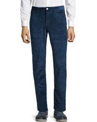 Michael Kors - Parker Corduroy Slim-fit Trousers - Lyst
