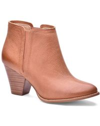 Splendid - Rochelle Leather Booties - Lyst