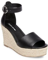 Lord & Taylor - Vexed Ankle Strap Wedge Sandals - Lyst