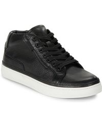 Kenneth Cole - Seize The Moment High Top Casual Trainers - Lyst