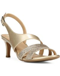 Naturalizer - Tiami Leather Sandals - Lyst