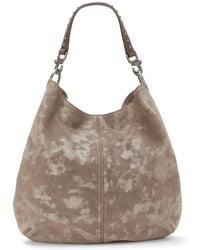 Lucky Brand - Dray Suede Hobo Bag - Lyst