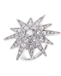 Kenneth Jay Lane - Pave Star Ring - Lyst