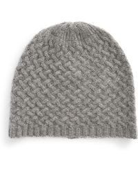 Lord & Taylor - Cashmere Knit Beanie - Lyst