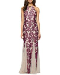 Alex Evenings - Brocade Halter Gown - Lyst