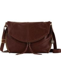 The Sak - Silverlake Leather Messenger Bag - Lyst