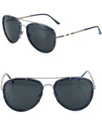 85b2d39a28a Lyst - Burberry Men s Be3083 59mm Sunglasses in Black for Men