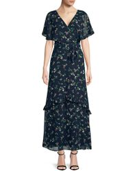 Dorothy Perkins - Ditsy Floral Printed Maxi Dress - Lyst