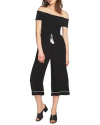1.STATE - May Off-the-shoulder Jumpsuit - Lyst