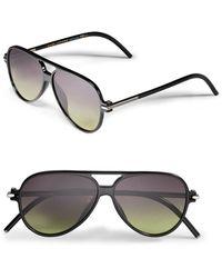 Marc Jacobs - 56mm Aviator Sunglasses - Lyst