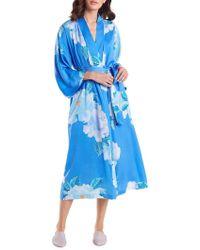N Natori - Peony Blossom Robe - Lyst
