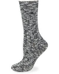 Birkenstock - Heathered Slub Crew Socks - Lyst